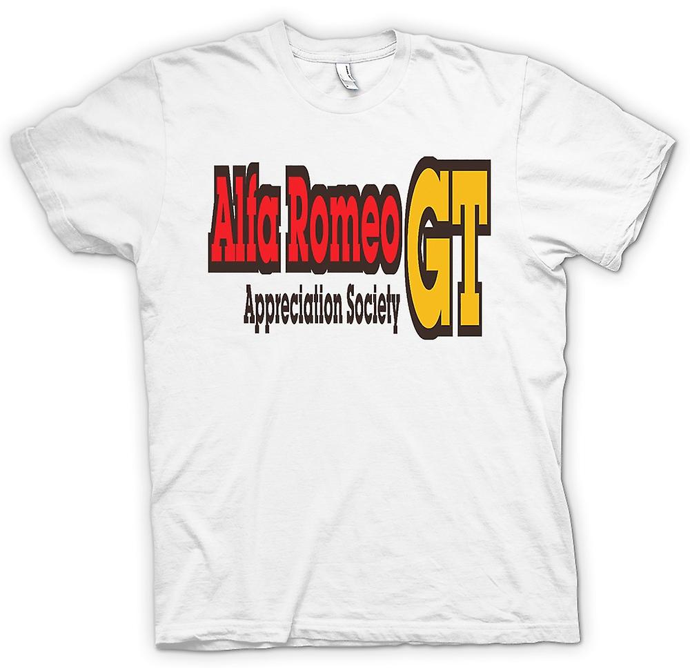 Womens T-shirt-Alfa Romeo GT Appreciation Society