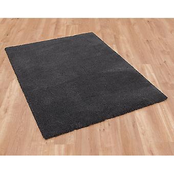 Gezellige 71381 100 Dark Grey rechthoek tapijten Plain/bijna gewoon tapijten