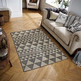 Moda Flatweave Prism Grey  Rectangle Rugs Plain/Nearly Plain Rugs