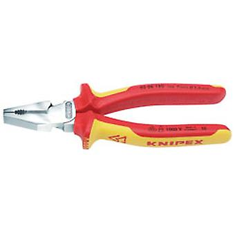 Knipex 49168 180mm VDE Fully Insulated High Leverage Combination Pliers