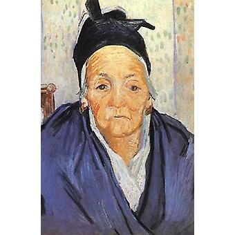 An Old Woman of Arles, Vincent Van Gogh, 58 x 42.5 cm