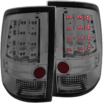 AnzoUSA 311165 Smoke LED Taillight for Dodge Ram - (Sold in Pairs)