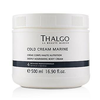 Thalgo koude room Marine diep Nourishing Body Cream (Salon grootte) - 500ml/16,7 oz