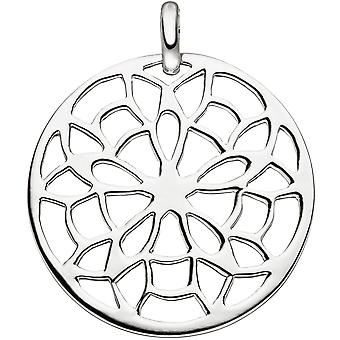 Trailer around 925 Sterling Silver Pendant silver