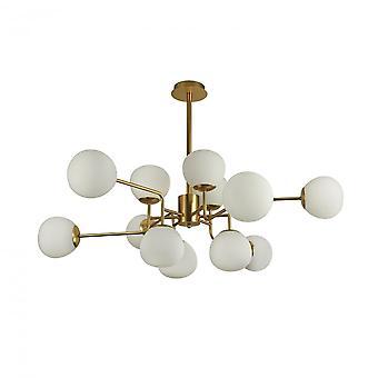 Maytoni Lighting Erich Modern Chandelier , Cream Gold