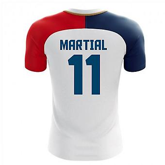 2018-19 France Concept Away Shirt (Martial 11) - Kids