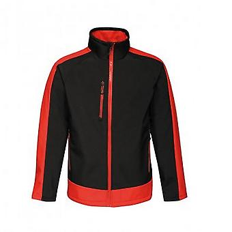 Regatta  Mens Contrast Three Layer Printable Soft Shell Jacket