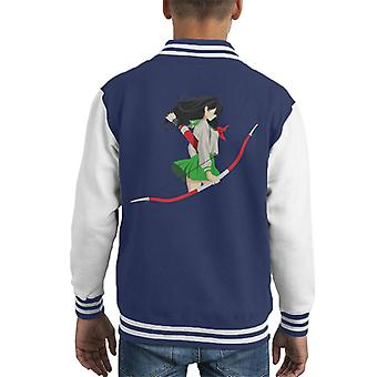 Inuyasha Kagome Kid's Varsity Jacket