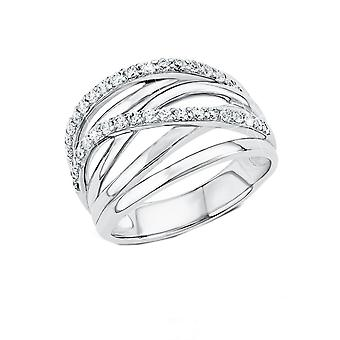 s.Oliver jewel ladies ring silver cubic zirconia silver SO1304