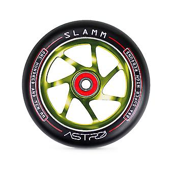 Slamm Green Astro - 110mm Single Scooter Wheel