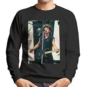 TV Times Bono Of U2 Guitar 3D Effect Men's Sweatshirt