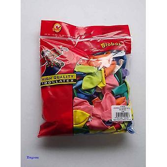 Globos latex ballonnen rond 10 assorti