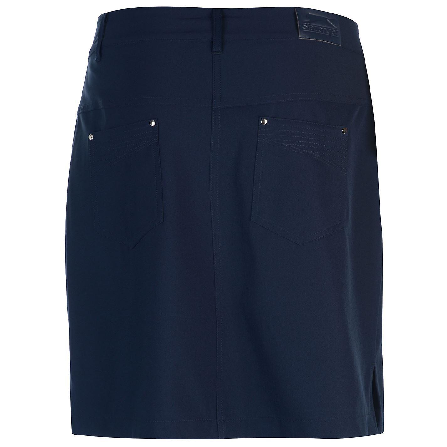 Slazenger Womens Golf Skort Zip Mesh Standard Fit