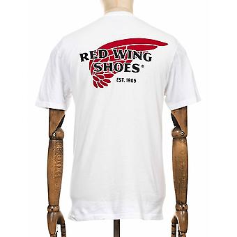 Red Wing 97043 Red Wing Logo Tee - White