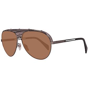 Diesel men's gunmetal sunglasses