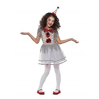 Vintage clown girl costume Carnival circus ring girl costume