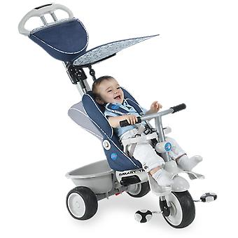 Recliner 4-in-1 Baby Trike - Blue / Cream