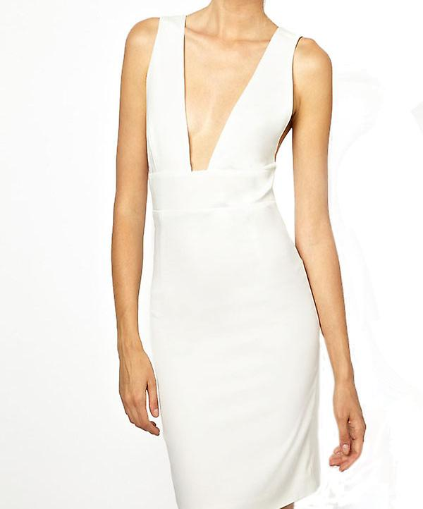 Waooh - Fashion - Dress Grand Neckline Sleeveless