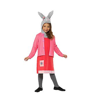Peter Rabbit, Lily Bobtail Deluxe Costume, Peter Rabbit TV, Small Age 4-6