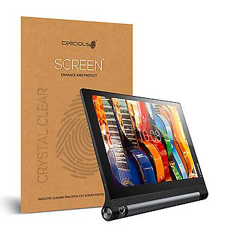 Celicious Vivid Invisible Glossy HD Screen Protector Film Compatible with Lenovo Yoga Tab 3 10 [Pack of 2]