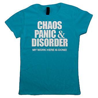 Chaos Panic & Disorder, Womens T Shirt