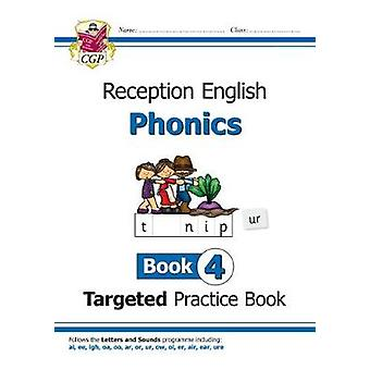 New English Targeted Practice Book - Phonics - Reception Book 4 by New
