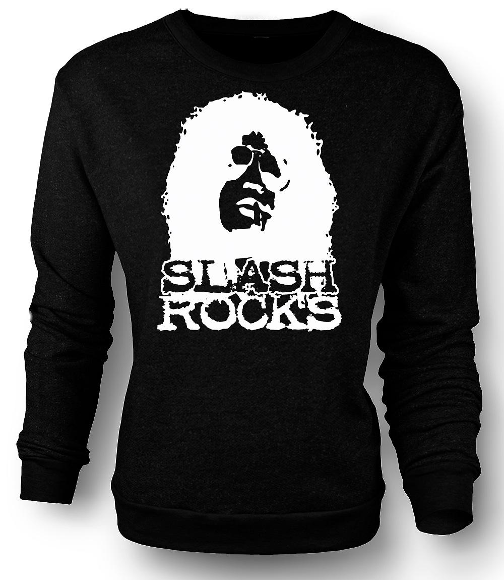 Mens Sweatshirt Slash Gitarren-Rock - Guns n Roses