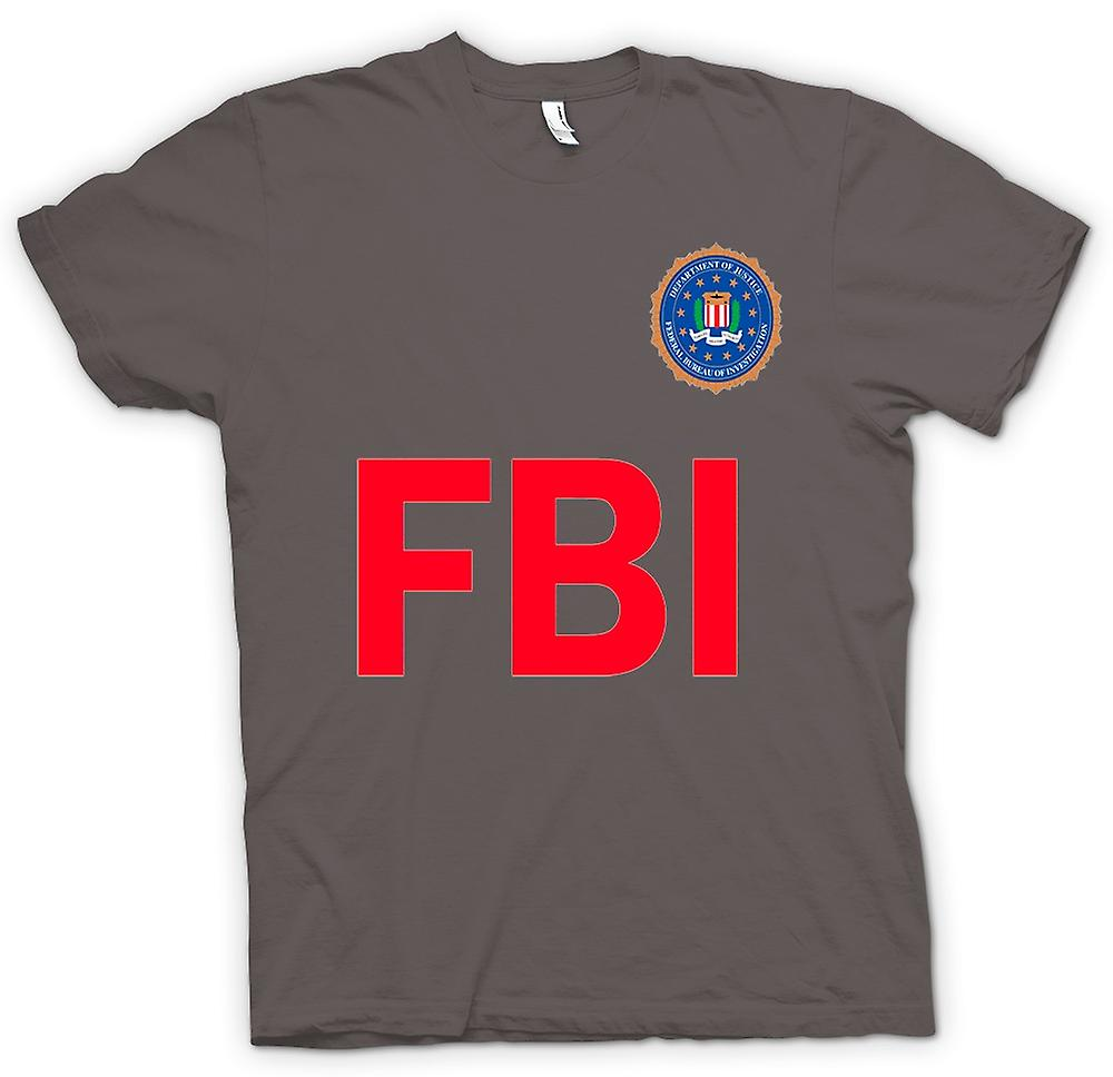 Herren T-Shirt - FBI USA - Polizei