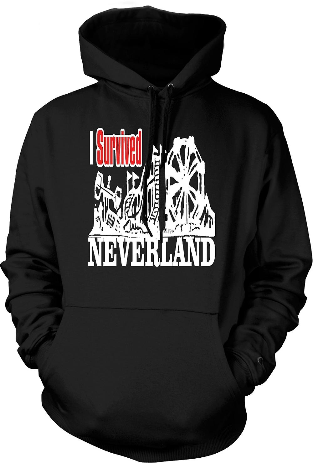 Mens Hoodie - I Survived Neverland - Funny