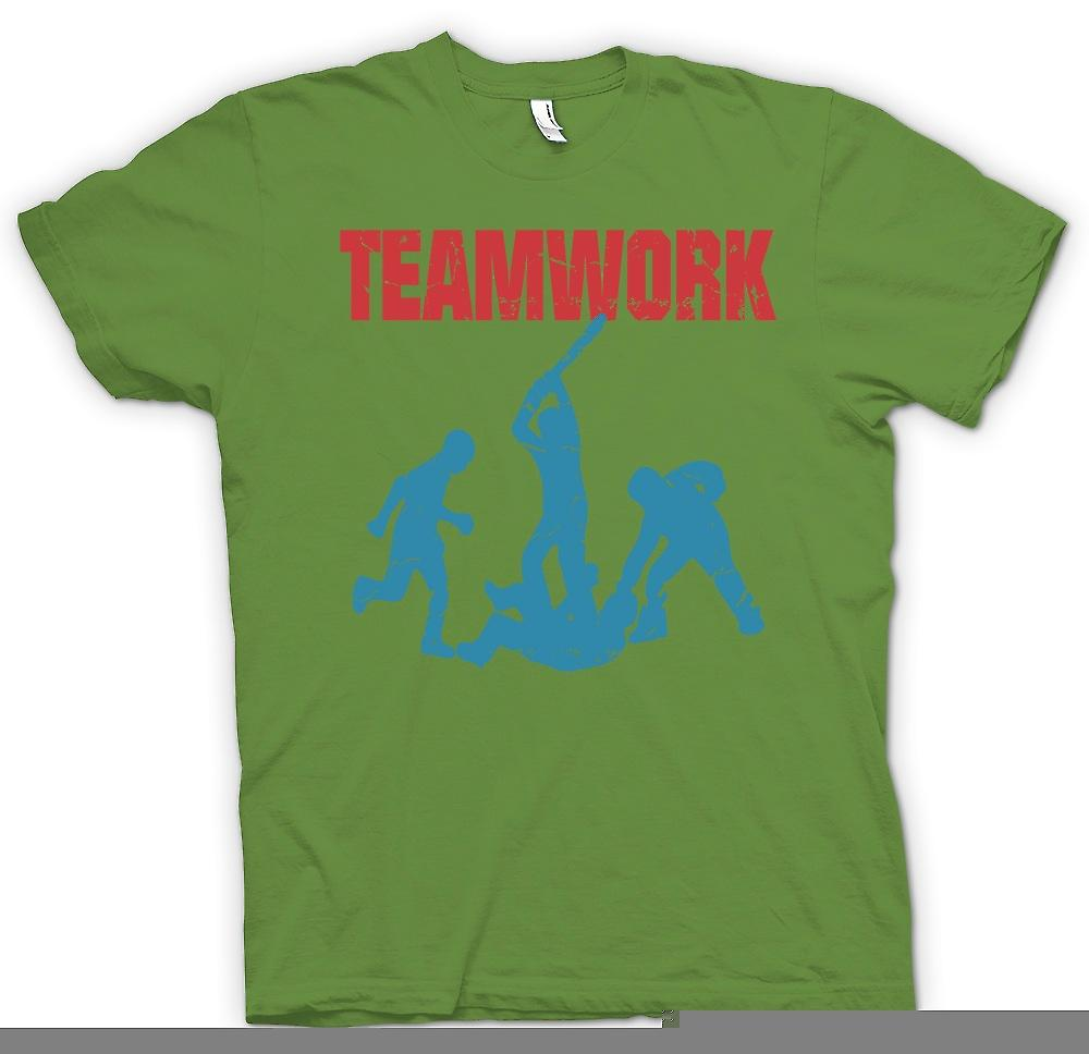 Heren T-shirt - Teamwork - Yob cultuur