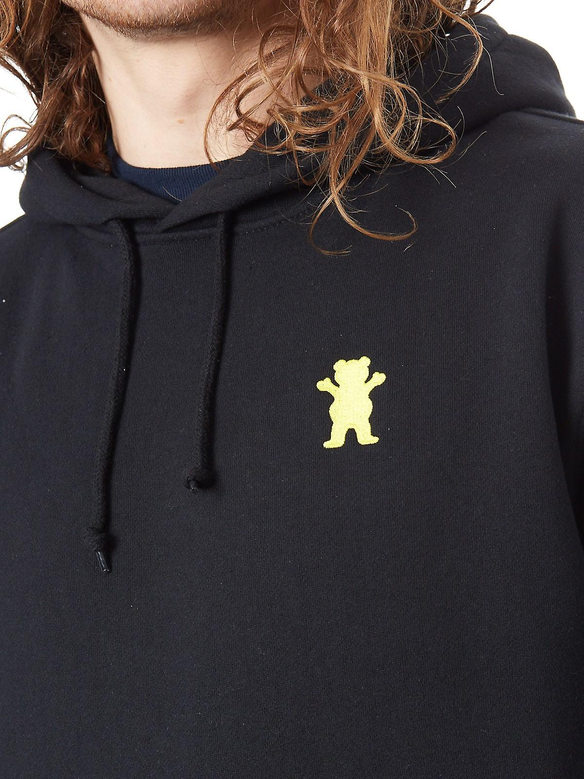 Grizzly Black OG Bear Hoody
