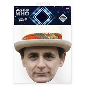 Sylvester McCoy Doctor Who kort Face Mask (sjunde läkaren)