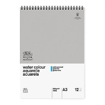 Winsor & Newton Classic Water Colour Pad CP 300gsm A3 (Spiral)