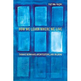 Como aprendemos onde vivemos: Thomas Bernhard, arquitetura e Bildung