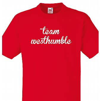 Team Westhumble Red T shirt