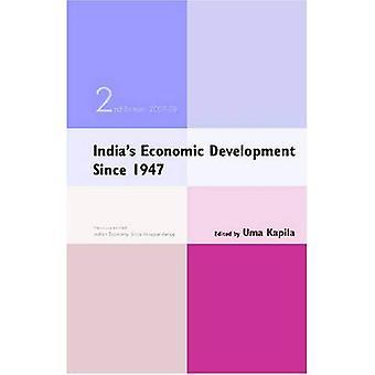 De economische ontwikkeling van India sinds 1947