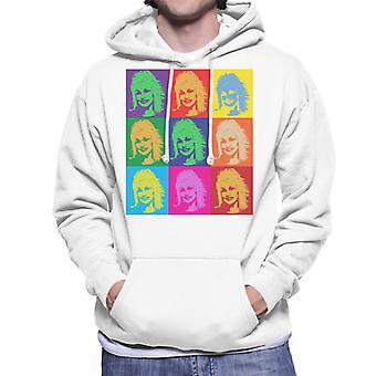 Dolly Parton Andy Warhol Herren Sweatshirt mit Kapuze