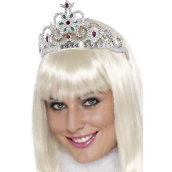 Womens Blume jeweled Tiara Fancy Dress Zubehör