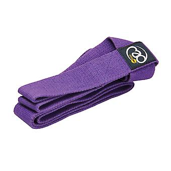 Fitness Mad Yoga Mat Carry Strap - Purple