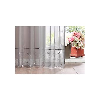 my home curtain high-quality Roman shade transparent from Voile grey
