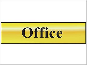Scan Office - Polished Brass Effect 200 x 50mm