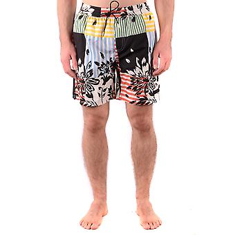 Burberry Multicolor Polyester Trunks