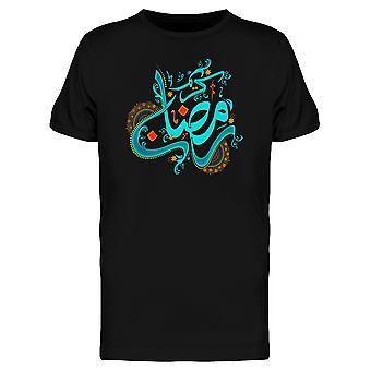 Ramadan Kareem Month Islam Tee Men's -Image by Shutterstock