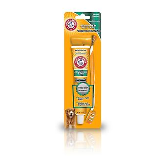 Arm & Hammer Hund Zahnpasta & Pinsel Set