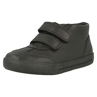 Boys Clarks Hi Top School Shoes Mini Idol