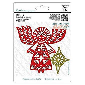 Xcut Dies Merry Angel (2pcs) (XCU 503366)