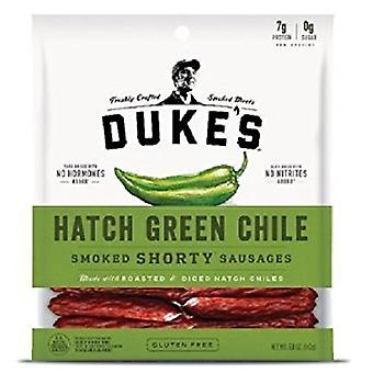 Duke's Hatch groene Chili gerookt Shorty worstjes