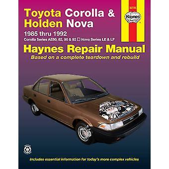 Toyota Corolla and Holden Nova Australian Automotive Repair Manual - 1