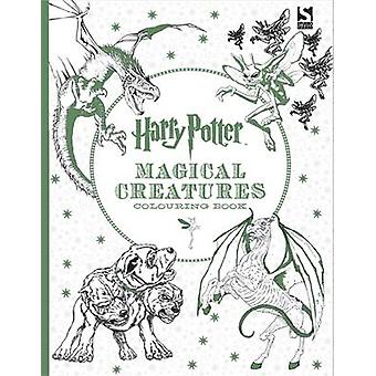 Harry Potter Magical Creatures Colouring Book by Warner Brothers - Wa