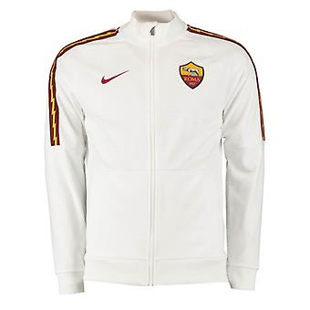 2019-2020 AS Roma Nike I96 Jacket (White)